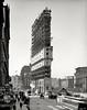 1475 Broadway, New York City, 1903. (michaeldonovan22) Tags: newyorktimesbuilding newyorkcity 1903 underconstruction timesbuilding timessquare wikipedia old found safe