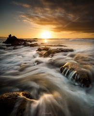 Sunrise flow (Gary Eastwood) Tags: nikond750 nikon nisifilters beacheslandscapes seascape sea ocean sunrise longexposures greatoceanroad
