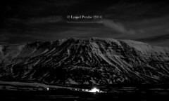 Northern_Lights_09_01_2014_III (LyonelPerabo) Tags: iceland icelandic night nighttime dark darkness landscape winter horizon scandinavia north nordic black grey white monochrome cloud clouds cloudy