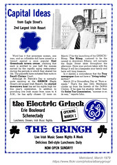 1979 The Grinch Capital Ideas (albany group archive) Tags: albany ny bar nightclub metroland 1978 the grinch eagle street irish pub old vintage photos picture 1970s photo photograph history historic historical