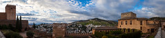 Panorama from Alhambra (Artun York) Tags: spain espana españa canon 5d 5dii 5dmk2 5dmarkii canondslrdslr canondslr canonespaña canontürkiye canonturkey panorama view 50mm 50mmstm 50mm18 50mm18stm 50 stm landscape landscapephotography flickt granada andalucia andalusia alhambra elhambra clouds