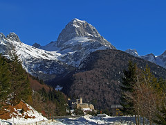Mangart from near the Predil pass. In front is the Predil fortress. (Vid Pogacnik) Tags: slovenia slovenija julianalps mangart predil fortress outdoors hiking mountain landscape