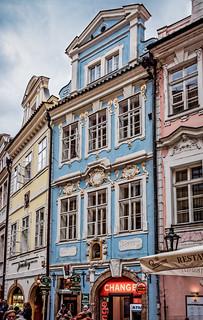 Classic Prague houses