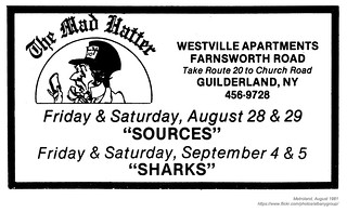 1981 The Mad Hatter - Sources Sharks