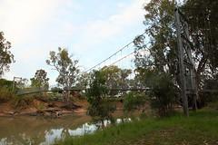 Balranald suspension bridge (Harlz_) Tags: swing bring murrimbidgee river balranald nsw australia suspension