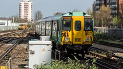 455840 (JOHN BRACE) Tags: 1982 brel york built class 455 emu 455840 seen east croydon station southern livery