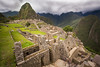 Walking in the streets of Machu Picchu, Peru (Tim van Woensel) Tags: machu picchu andes andean mountains street streets new seven wonders peru south america travel clouds grass long exposure nd filter unesco world heritage inca city cusco cuzco area civilization sacred valley citadel