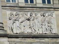 Cultural icons, bas relief, Musée d'Aquitaine, Bordeaux, France (Paul McClure DC) Tags: bordeaux france gironde july2017 nouvelleaquitaine historic architecture sculpture