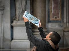 Snapping the Floor Ornaments (stefanheymann) Tags: ornaments marmor marble ipad petersdom basilicadisanpietro rom roma rome snapshot d850 2470vr