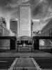 One Canada Square (davepickettphotographer) Tags: onecanadasquare canarywharf uk gb england unitedkingdom london londonuk cityoflondon docks regeneration east end dockland tall buildings monotone isleofdogs