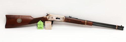 "Winchester Model 94 - ""Saskatchewan Diamond Jubilee"" - 38-55 Winchester Caliber Lever-Action Rifle in box ($1,064.00)"