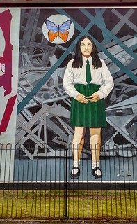 Death of Innocence, Bogside Mural, Derry, Northern Ireland