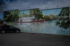 DSC_5306 (Copy) (pandjt) Tags: roadtrip unitedstates usa southcarolina conway conwaysc mural publicart waccamawriver fb burroughs
