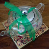 Teapot and chocolate gift (madlily58) Tags: teapot glass chocolate gift ribbon