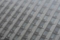 mist (Rof Noirceur) Tags: rofnoirceur neitheroblivion ukraine donetsk dpr donetskpeoplesrepublic donbass january winter building fog mist soviet postcommunism city urban canonpowershotsx60hs canon