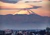 Mt. Fuji (CheeToS0) Tags: city cloud fog fuji japan landscape morning mountfuji mountain mtfuji sunrise tokyo