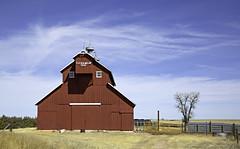 E. E. Hamlin Barn (eDDie_TK) Tags: colorado co washingtoncountyco washingtoncounty lastchancecolorado lindon coloradoseasternplains barns redbarns rural rurallife ruralliving