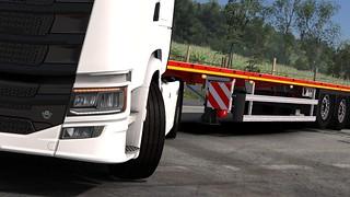 Scania S580 + Faymonville MAX Trailer 200