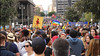 A River of People on Broadway (Robb Wilson) Tags: freephotos losangeles marchforourlives antitrumprally antinrarally antigunviolencerally downtownla protestcrowds protestsignsandbanners canoneosrebelt6camera canon1855mmzoomlens canonhdvideo