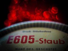 About 1960 (ursulamller900) Tags: e605 poison macromondays pentacon2829 extensiontube 12mm makroring macro red backintheday
