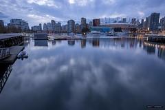 Cloud City (Clayton Perry Photoworks) Tags: vancouver bc canada spring explorebc explorecanada skyline reflections bcplacestadium