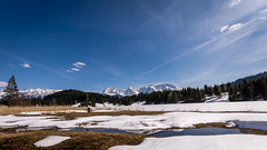Alpine scenery (hjuengst) Tags: alpen alps mountain berge schnee snow spring karwendel geroldsee wagenbrüchsee bavaria bayern gerold