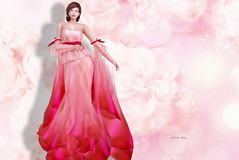 (IMAGE) -AZUL- Mixa (mami_jewell) Tags: azul gown dress formal flexi mesh mvw missvirtualworld bosl thebestofsl mixa brasil final sl secondlife game virtual avatar fashion brazil