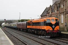 Irish Rail 071 in Kildare Station. (Fred Dean Jnr) Tags: branchlinewanderer railtour irishrail 071 kildarestation april2018 iarnrodeireann rpsi railwaypreservationsocietyofireland