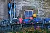 (Jean-Luc Léopoldi) Tags: fenêtre pêche casiers nasses flotteurs bleu crépuscule mer bretagne