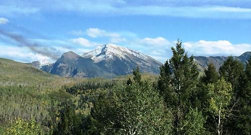 7009e Rocky Mountains near Redstone Colorado