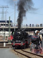 44 1486 wartet auf Mitfahrer (Thomas230660) Tags: dresden eisenbahn dampf dampflok steam steamtrain sony