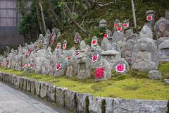 Jizo Statues at Kiyomizu-Dera (DanaMichelle309) Tags: japan kiyomizu kyoto shrine travel kyōtoshi kyōtofu jp