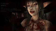 The Collector (Kuroba3D) Tags: swallow ear contest people 3d portrait art digital photography virtual world secondlife horror avatar killer dark creepy