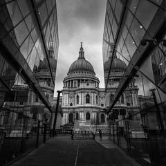 St.Pauls Cathedral (davepickettphotographer) Tags: stpauls westminister cityoflondon london cityofwestminister reflections newcrossshoppingcentre cathedral