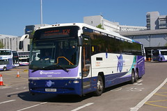 STAGECOACH FIFE 54063 SV59CGY (bobbyblack51) Tags: stagecoach fife 54063 sv59cgy volvo b12b plaxton panther triaxle route branded xpress jet connect buchanan bus station glasgow 2017