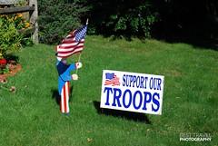 Support our troops, Cape Cod (Travel around Spain) Tags: cabocod capecod península massachusetts estadosunidos marismas