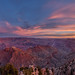 View of the South Rim of the Grand Canyon at sunrise from Navajo Point, Grand Canyon National Park, Arizona
