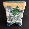Foxes' Wedding (1) (Blue Ruin 1) Tags: bonsaipot kitsunenoyomeiri foxeswedding tousui japanese ceramics pottery