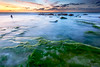 Palmachim Beach at Sunset I (stollman_ron) Tags: water seascape nikon d600 longexposure sea sand rocks sunset sky clouds