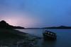 Lights of the Storm (Hector Prada) Tags: tormenta rayo barca pantano cielo nubes luz storm ray boat lake sky clouds light paísvasco basquecountry