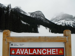 Emerald Lake Canada Parks (Mr. Happy Face - Peace :)) Tags: crosscountry ski mountains rockies scenery warnings snowcaps lake forest trees landscapes albertabound art2018 hff fence happyfencefriday fencefriday snowing rockymountainhigh yyc avalanche yohonationalpark emeraldlake
