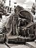 Trauerwache (diarnst) Tags: figuren monument nordisch skulptur friedhof figures nordic sculpture cemetery