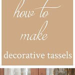 Best Ideas For Diy Crafts : Easy DIY Decorative Tassels with Large Wood Beads • Nourish and Nestle #diydec... thumbnail