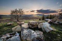 Nell'attesa che la natura si risvegli (Danilo Agnaioli) Tags: umbria italia natura tramonto collinedelperugino primavera sole alberi cielo canon6d samyang14mm