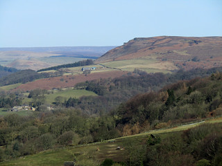 Bamford Edge from Surprise View, March 2018