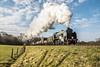 Early morning freight (Tony Teague (Slowcomo)) Tags: bluebellrailway jonbowerscharter sussex freighttrain no847 maunsellclasss15 srbrsclasss15 heritagerailway preservedrailway steamrailway steamlocomotive tonyteague