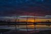 Late March Sunrise - 032718-060626 (Glenn Anderson.) Tags: sun nikon outdoor sky cloud skyscape solar serene morning landscape reflection sunrise cloudsstormssunrisesandsunsets buscobeachatvpark clouds water neuseriver calm trees