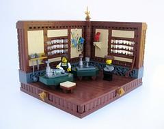 ETWC Inn (Robert4168/Garmadon) Tags: lego inn eslandola brethrenofthebrickseas absseason2finale corrington etwc interior