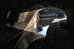 Huddersfield West Yorkshire 25th March 2018 (loose_grip_99) Tags: huddersfield west yorkshire england uk canal bridge water urban reflection longroyd manchester road shadows march 2018