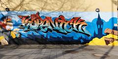 Graffiti: Köpenick (Pascal Volk) Tags: berlin köpenick berlintreptowköpenick wideangle weitwinkel granangular superwideangle superweitwinkel ultrawideangle ultraweitwinkel ww wa sww swa uww uwa spring frühling primavera 24mm graffiti streetart urbanart canoneos6d sigma24mmf14dghsm art 24mmf14 24mmlens unpointquatre onepointfour dxophotolab